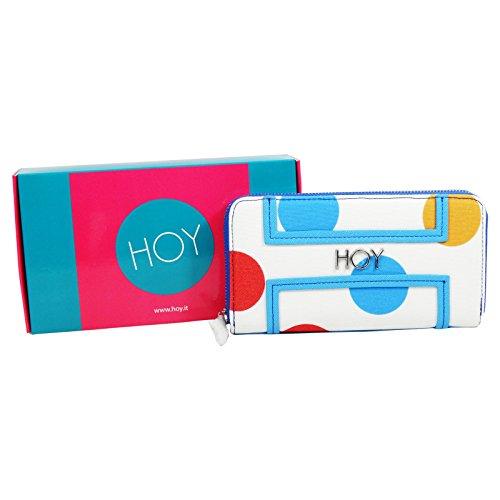 Seven Hoy Dots Portafogli Da Donna Con Portamonete Porta Tessere chiusura  zip a56bf59b0e26