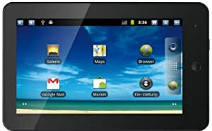 Touchlet X3 17,78 cm (7 Zoll) Tablet-PC (1GHz, 512MB RAM, 2GB HDD, Touchscreen resistiv, HDMI, Android 2.3) schwarz