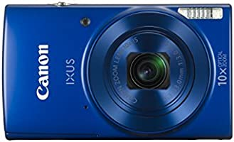Canon IXUS 180 Compact Camera with 2.7-Inch LCD Screen - Blue