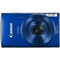 Canon IXUS 180 KIT Blue EU23 Kompaktkamera schwarz