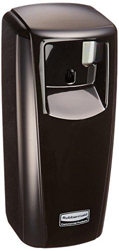 Standard-lcd (Rubbermaid Produkte 1793540Standard odor-control Aerosol Spender mit LCD-Display, schwarz)