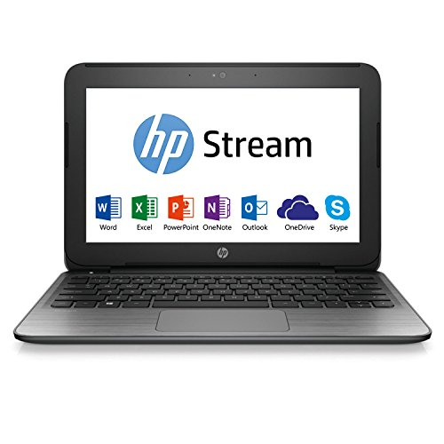 HP Stream 14-ax005nf PC Portable 14'' Blanc (Intel Celeron, 4 Go de RAM, 32 Go, Intel HD Graphics 400, Windows 10) + Abonnement Microsoft Office 365 inclus