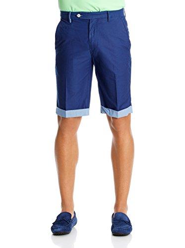 hackett-london-roll-up-shorts-bermuda-para-hombre-azul-talla-31