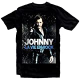 Photo de Free Johnny Hallyday Star Homme Noir Mens T- Shirt Unisex XS-4XL par Free
