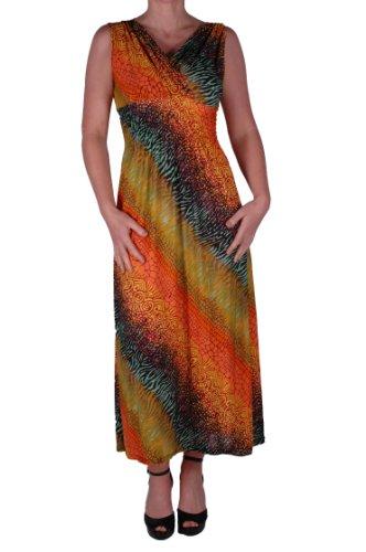EyeCatch - Robe longue imprimés - Fran - Femme - Taille unique Design 8