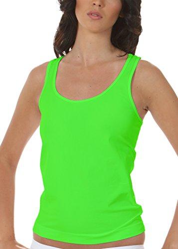 FOCENZA - CANOTTA OLIMPIONICA intimo donna Verde fluo