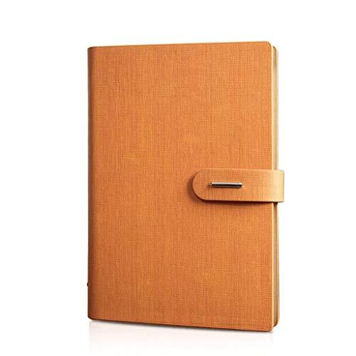 Preisvergleich Produktbild 2019 Agenda Notizbuch B5 Tagebuch Notizbuch Magazin Wöchentlich Geplantes Verdicken Loseblatt Briefpapier Business Notizbuch Konferenzprotokoll (Color : Orange)