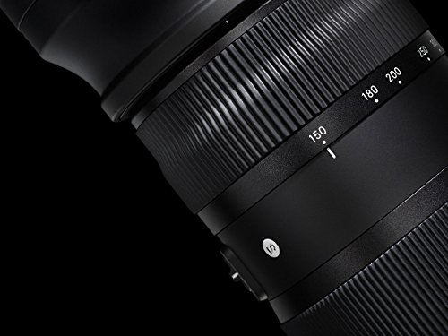 Sigma Obiettivo da 150-600mm-F/5-6.3, Attacco Canon, Nero