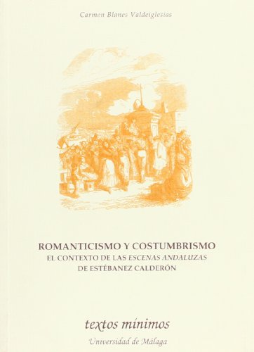 Romanticismo y Costumbrismo Cover Image