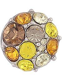 Mini Click Small Button Druckknöpfe Petite klick Armband Kompatibel mit Chunks Gold Farben Damen Armreif Modele 12mm Auswahl Kirschen Sterne Strass 12mm Schmuck Kleine knöpfe Snaps - Akki