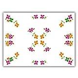 Tovagliette Fato Happy Flower Monouso Da Tavola In Carta Usa e Getta
