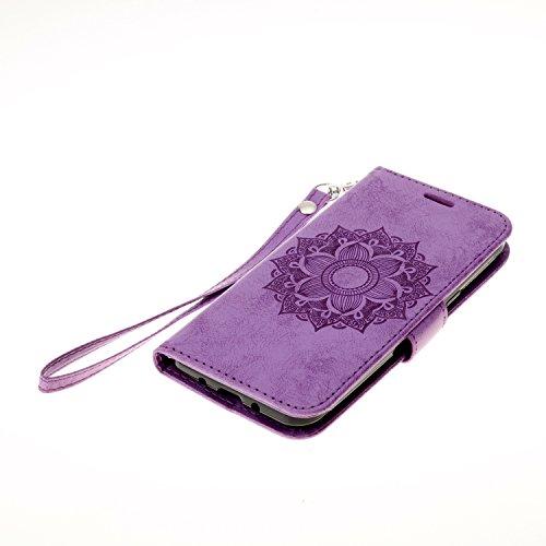 PU Cuir Coque Strass Case Etui Coque étui de portefeuille protection Coque Case Cas Cuir Swag Pour Samsung Galaxy J3 J310 (2016) SM-J320F +Bouchons de poussière (3SS)