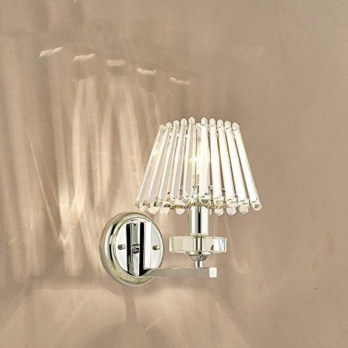 HOHE SHOP/ Lámpara de cabecera de cristal simple moderna dormitorio dormitorio salón...