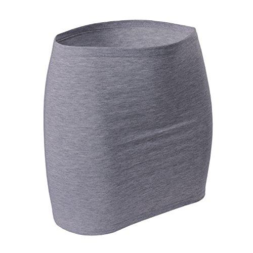 CFLEX Variotube Nierenwärmer Grey Melange-M/L (Baumwoll-jersey Damen-kurz)
