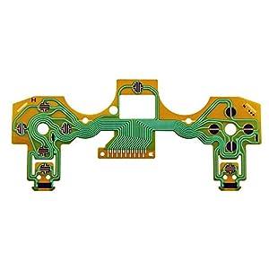 booEy PS4 Dualshock Controller Flex Film Platine Tasten Folie Leiterbahn Kontakte