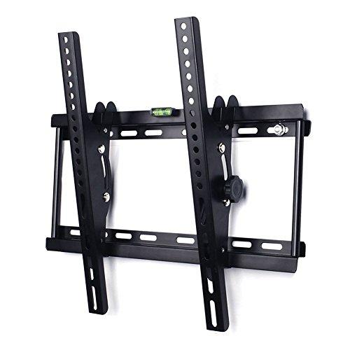 """TV Wandhalterung YUMUN Universal Wandhalter LCD Fernsehhalterung Halter Flachbildfernseher- 30"""" bis 65"""" Zoll (76-165cm) - bis +/- 15º Neigbar - Belastbar bis 75Kg - bis VESA 400x400mm"""