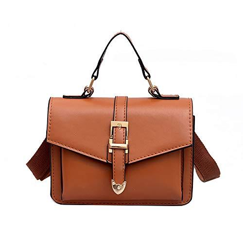 Mode Koreanisch Damentasche Designer Taschen Schnallenverschluss Citytasche Handtasche Mädchen Crossbody Ledertasche Clutch Henkeltasche Umhängetasche Shopper