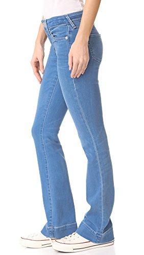 True Religion Becca Mid Rise, Jeans Bootcut Femme Blue (Spring Break)