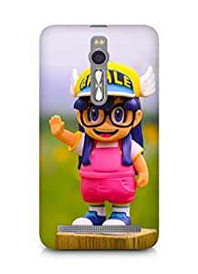 Amez designer printed 3d premium high quality back case cover for Asus Zenfone 2 (Cute Doll)