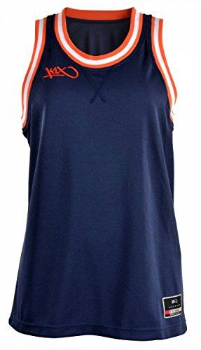 K1X Hardwood Double X Jersey mk2 Basketball navy-rot-weiß Damen navy/flame/white, S