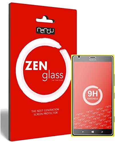 ZenGlass (2 Stück Flexible Glas-Folie für Nokia Lumia 1520 Panzerfolie I Bildschirm-Schutzfolie 9H I (Kleiner Als Das Gewölbte Bildschirm)