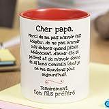 La mente es Maravillosa Nos pensées - Tasse avec Message et Dessin Amusant (Cher...