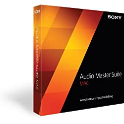 Sony Audio Master Suite audio editing software for Mac