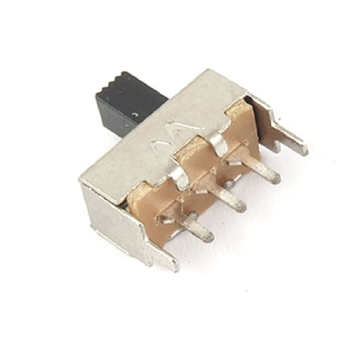10 PCS DC 12 V 0,1 A ON/ON 2 Position SPDT PCB Panel Miniatur Slide Switch 3 Pin 12 Pin Panel