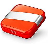 LYYY.Y Tragbare Pill Box Nette Mini Karton Box Pillen Zahnfleischtasche Tragen Stuff Seniors Need Portable Travel... preisvergleich bei billige-tabletten.eu