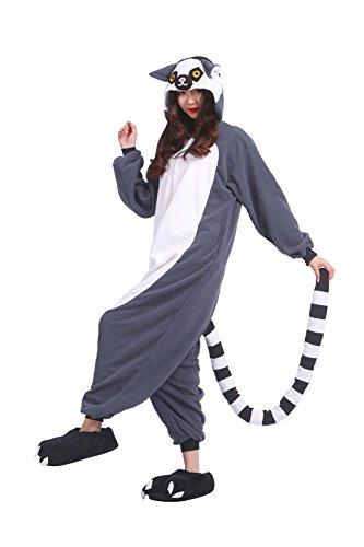 DarkCom Onesies Adulti Donne Pigiama Soffice Tutina Kigurumi Costume di Halloween Tuta