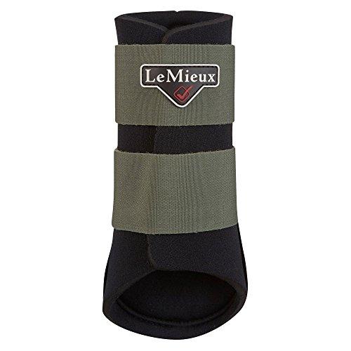LeMieux ProSport Grafter Brushing Boots Olive Medium (Oliven-boot)