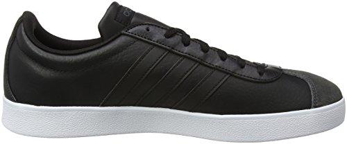 adidas VL Court 2.0, Chaussures de Gymnastique Homme Noir (Core Black/core Black/ftwr White)