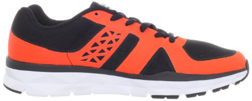 DC UNILITE TRAINER M BRU 320057, Sneaker Uomo (Black/Fluorescent Orange)