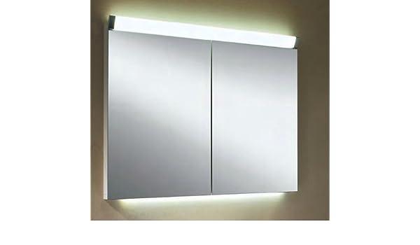 Armadietto Da Bagno Schneider : Schneider armadietto con specchio di alluminio paliline led