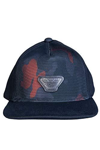 Emporio Armani Kappe verstellbar Herren Baseball Cap Basecap hut Schwarz Emporio Armani Hüte