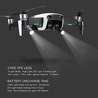 Anbee DJI Mavic Air Flash Light Kit/Night Flight Lights Lamp