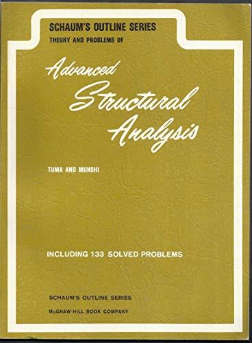 Advanced Structural Analysis (Schaum's outline series) por Jan J. Tuma