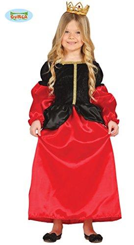 Guirca Prinzessin Kostüm für Mädchen Gr. 98-146, Größe:98/104
