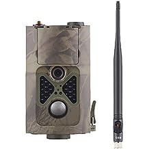 3G 16MP 1080P HD Cámara de infrarrojos juego & Trail hc-550g IR ledes 120° gran angular de visión nocturna cámara de vigilancia digital pantalla LCD de 2.0pulgadas impermeable cámara de caza escultismo apoyo 3G/2G GSM/MMC/SMTP/SMS