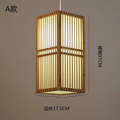 Japanischen Kronleuchter Restaurant Lampe Tatami Schlafzimmer Nachttischlampe Und Wind Tee Zimmer Lampe Neue Chinesische Zen Lampe Bambus Lampe Eine 17,5 * 37 Cm -