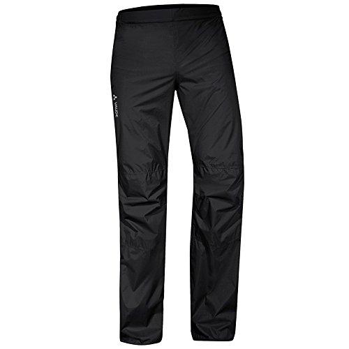 Vaude Drop Pants II Regenhose Herren alle Größen, schwarz, 2XL