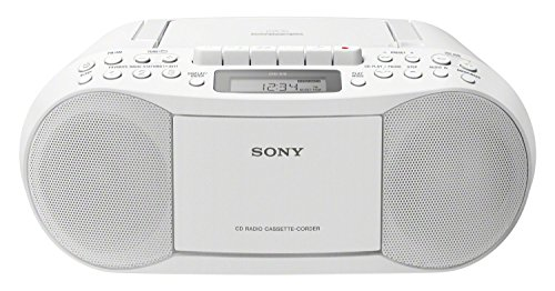 Sony CFD-S70 Boombox (CD, Kasette, Radio) weiß (Radio Mp3 Player Sony)