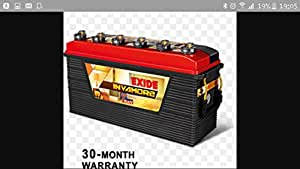 Exide Invamore FIO0-INVAMORE1500 150AH Inverter UPS Battery (Black and Red)