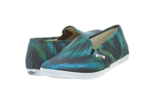 Vans U SLIP-ON LO PRO VF4YBKA, Scarpe chiuse unisex adulto verde (Green)