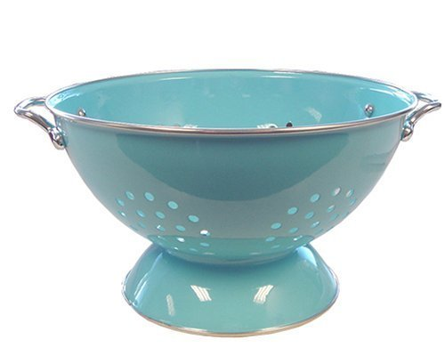 Calypso Basics 5 Quart powder coated Colander, Turquoise by Reston Lloyd 5 Quart Colander