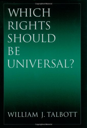 Which Rights Should Be Universal? (English Edition)