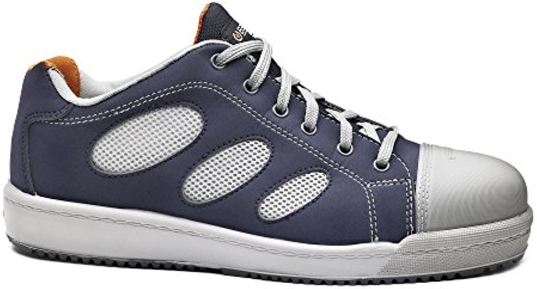 Base bo254 N Loop S1P Planeta hombre antideslizante con cordones Zapatillas de seguridad zapatos