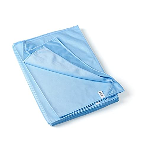 culinarii torchons vaisselles en microfibre, 10 pièces (50x70cm, bleu)