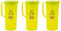 aarohi13 Jug, 3-Piece, 1.5 Liters, Green (Set Of 3_Jug_Green)