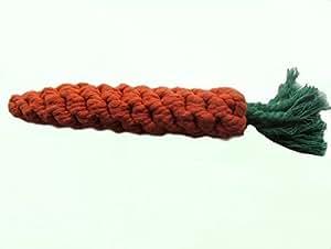 Goliton® 1pc corde carotte a coton pour les nettoyages du tent ,corde tressé de coton pour Teddy VIP animal couleur rouge